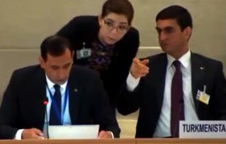 Диалог глухих с немыми. В ООН прошли слушания о правах человека в Туркменистане (видео)