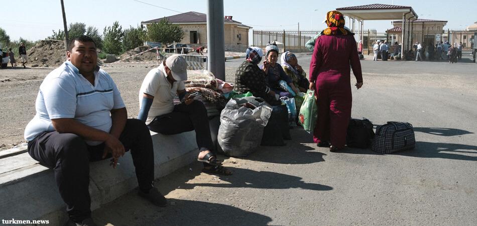 turkmen-uzbek border