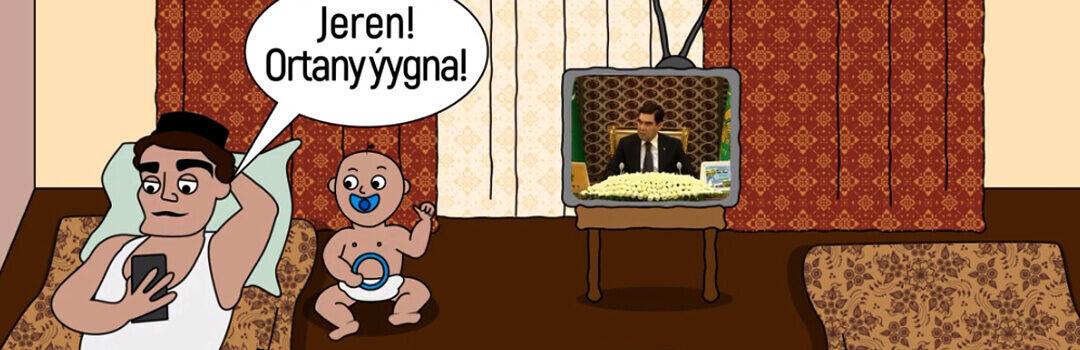 Нелегка доля туркменской женщины. Новый социальный мультфильм turkmen.news