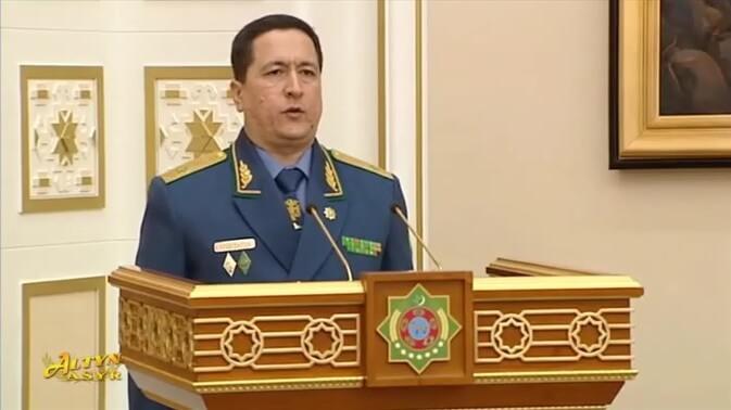 Источник: Уволен глава МВД Исгендер Муликов