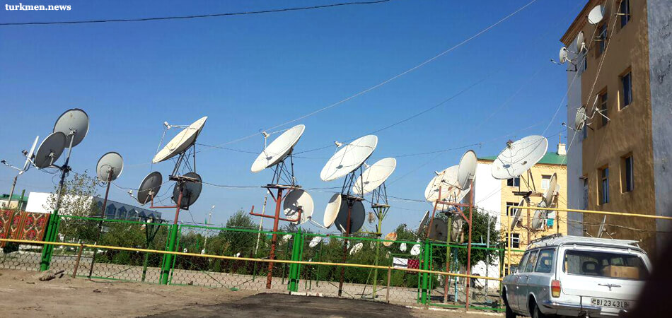 Узбекские телеканалы отключили от туркменского спутника