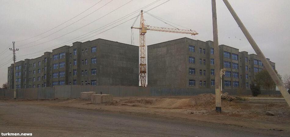 Новые жилые дома в Дашогузе