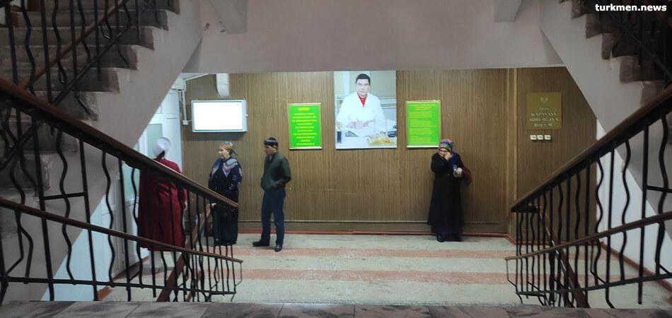 В Марыйской области мобильные группы врачей обследуют пенсионеров