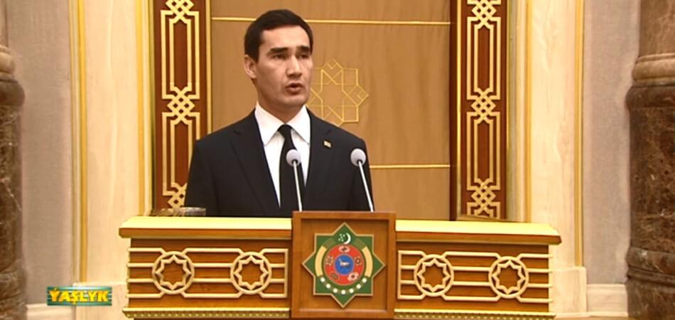 Сердар Бердымухамедов стал министром промышленности и строительного производства
