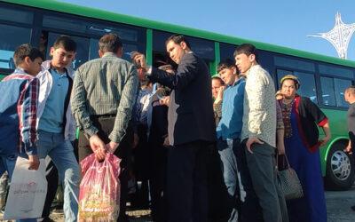 В Ашхабаде вернулись к процедуре измерения температуры в местах скопления людей