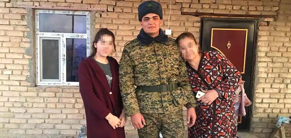 Туркменская армия убивает. В Марыйском велаяте погиб новобранец