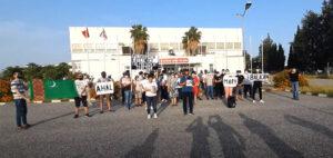 Трудовые мигранты на Кипре вновь провели митинг против политики властей Туркменистана