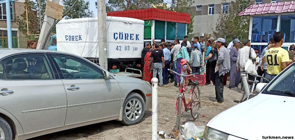 Основной продукт: В Туркменистане наблюдается дефицит хлеба