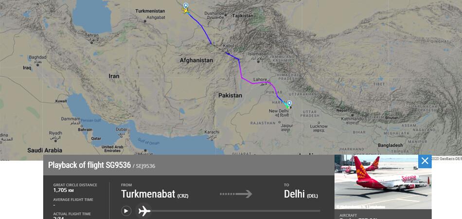 Очередная группа иностранцев покинула Туркменистан чартерным рейсом