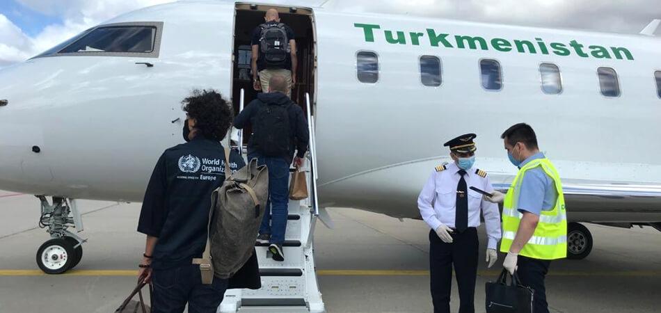 В Туркменбаши ожидают приезда миссии ВОЗ