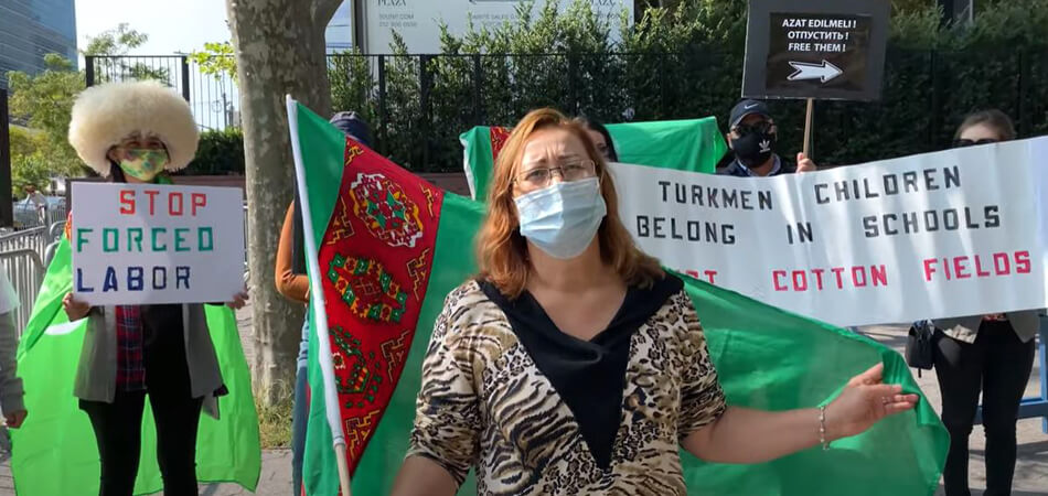 Женское лицо туркменского протеста. Монолог Ольги Чарыевой – одного из лидеров движения туркмен за рубежом