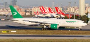 «Туркменские авиалинии» совершат чартерный рейс в Стамбул