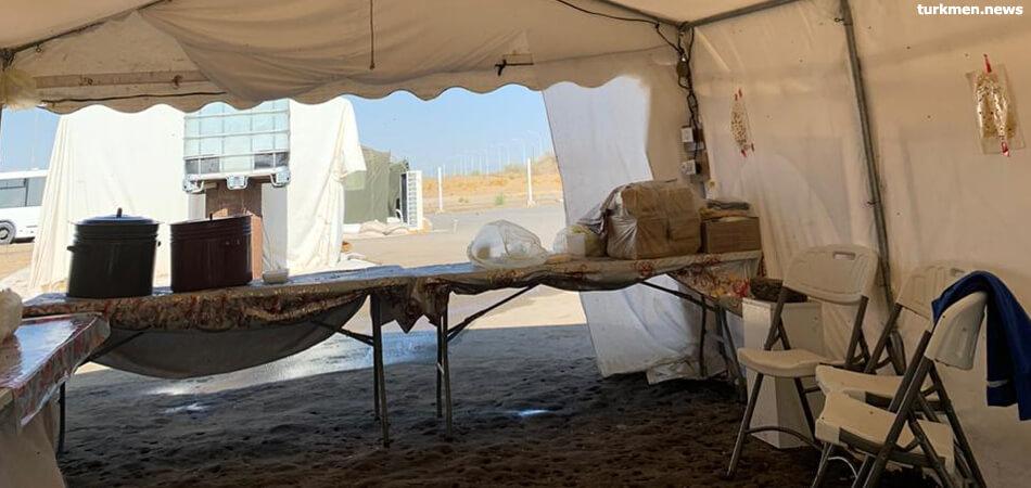 Карантинный лагерь в Лебапе не справляется с количеством прибывших из-за рубежа