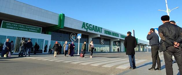 В Ашхабаде снесут терминал аэропорта для внутренних рейсов. Его построили в 2014 году