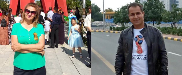 Произвол в Туркменистане: В День прав человека в полиции удерживают женщину-инвалида и ее супруга (Обновлено)