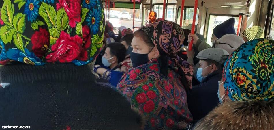 Об общественном транспорте Ашхабада. Письмо читателя