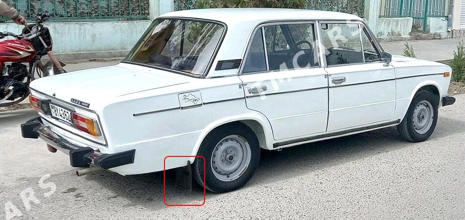 Туркменистан: В Ашхабаде автомобилистов заставят перекрашивать брызговики