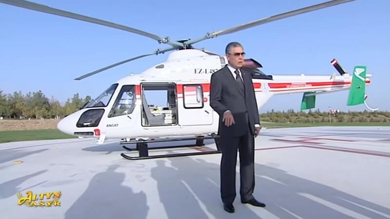 В Туркменистане впервые пересадили почку и закупили медицинский вертолет