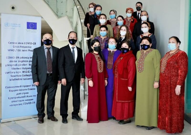 ВОЗ провела для туркменских медиков тренинг по лечению COVID-19