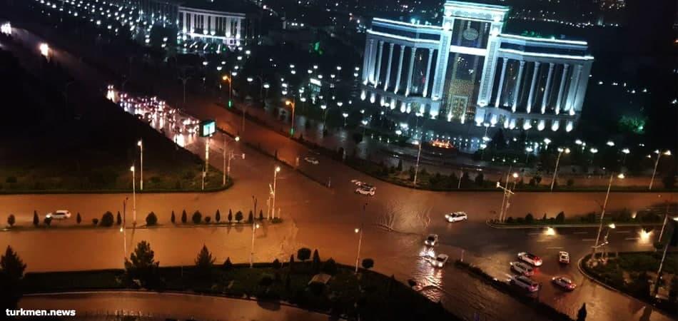 Подрядчик заявил о 60-процентной готовности селезащитной системы Ашхабада