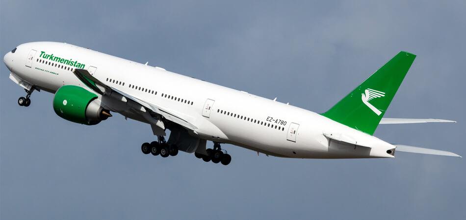 Новый туркменский боинг завершает тестовые полеты