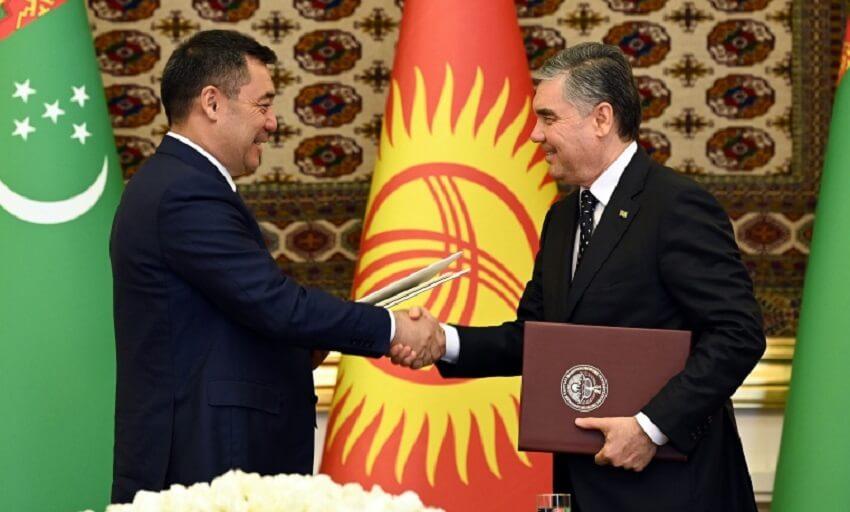 Кыргызстан и Туркменистан создадут совместный фонд развития на $100 миллионов