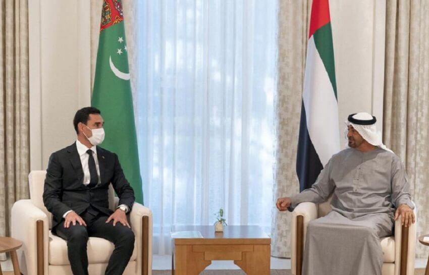 Сердар Бердымухамедов встретился с наследным принцем Абу-Даби