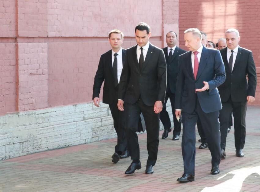 Сердар Бердымухамедов приехал в Санкт-Петербург на экономический форум