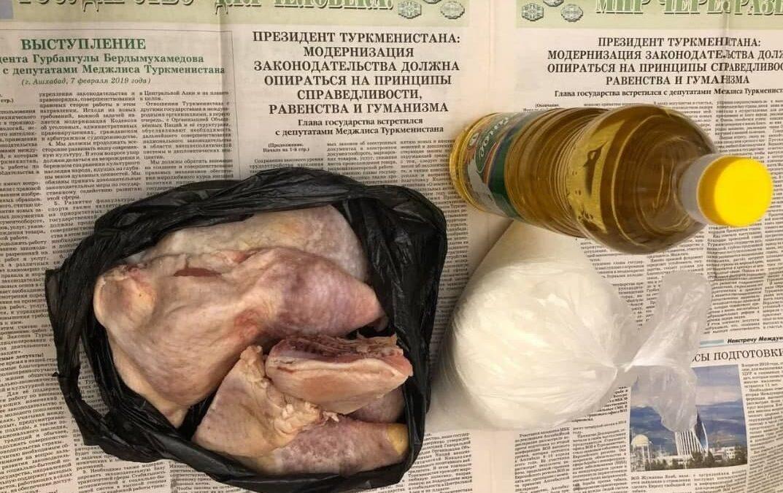 В Ашхабаде начались перебои с доставкой пайковых продуктов