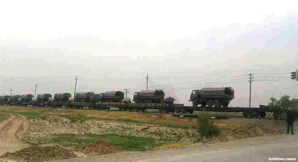 Туркменистан подтянул тяжелую технику к границе с Афганистаном