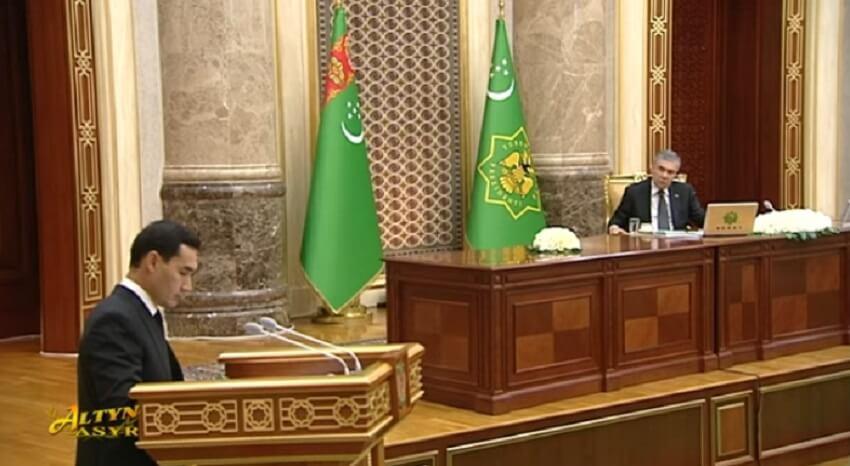 Сердара Бердымухамедова назначили вице-премьером по финансам и экономике