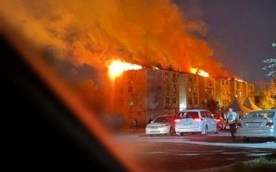 Кто поджигает Ашхабад? В городе произошел второй крупный пожар за неделю