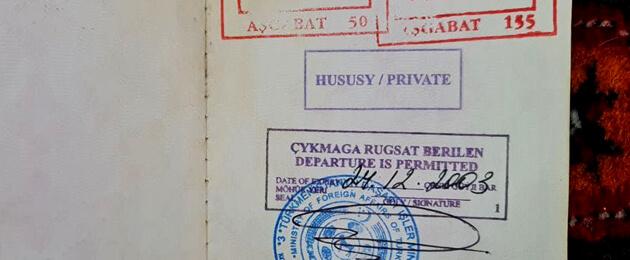 Источник: Власти Туркменистана рассматривают вопрос введения выездных виз