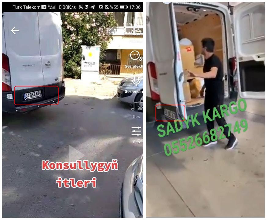 В Стамбуле сорвали акцию протеста туркмен. Одного из активистов силой затащили в здание консульства