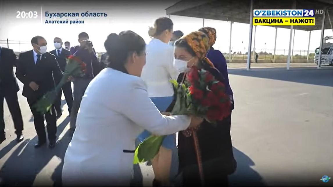 Делегации из Дашогуза и Лебапа посетили соседний Узбекистан. Граница для студентов по-прежнему закрыта