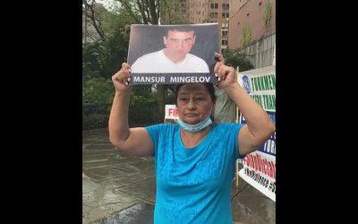 В Нью-Йорке прошел митинг туркмен. На очереди Женева