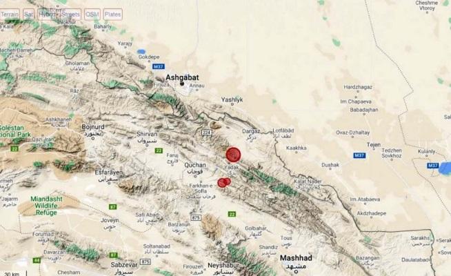 В Ашхабаде ощутили произошедшее в Иране землетрясение