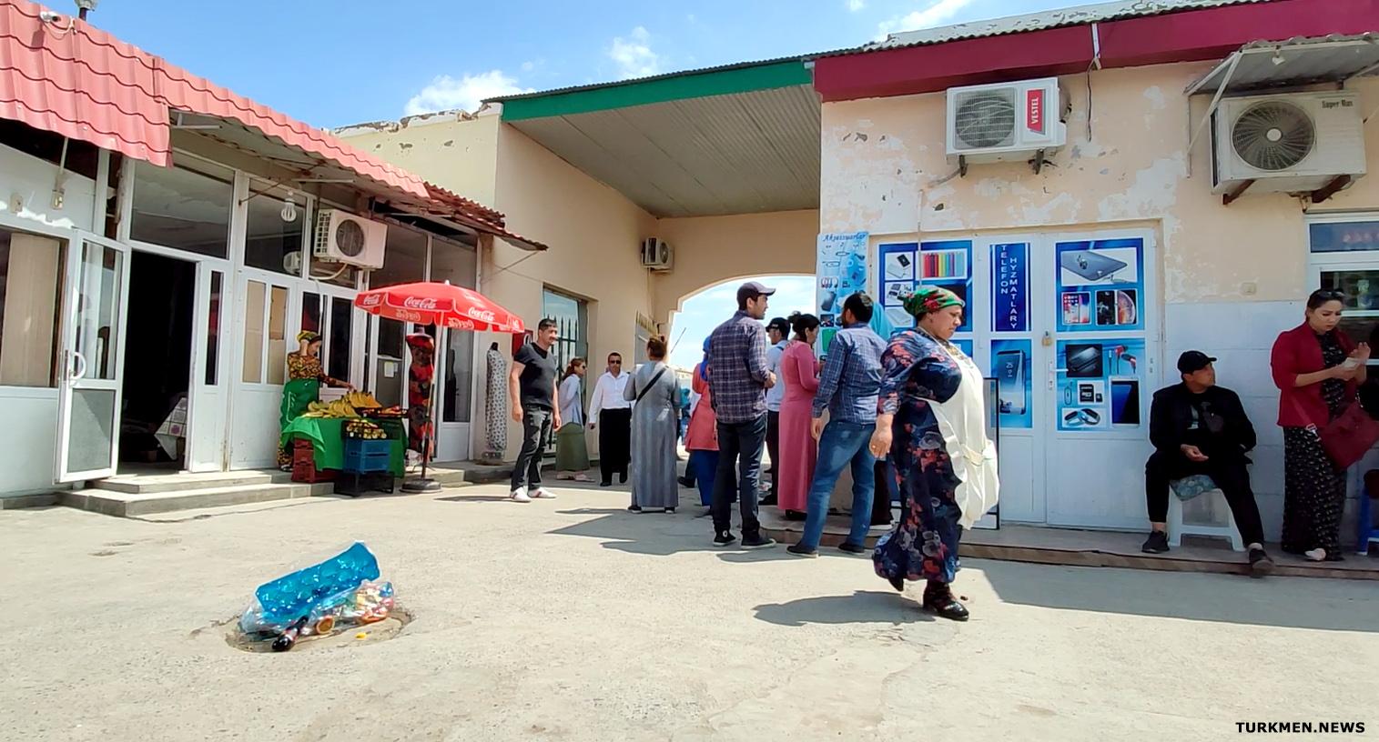 В Туркменабаде будет снесен базар в центре города