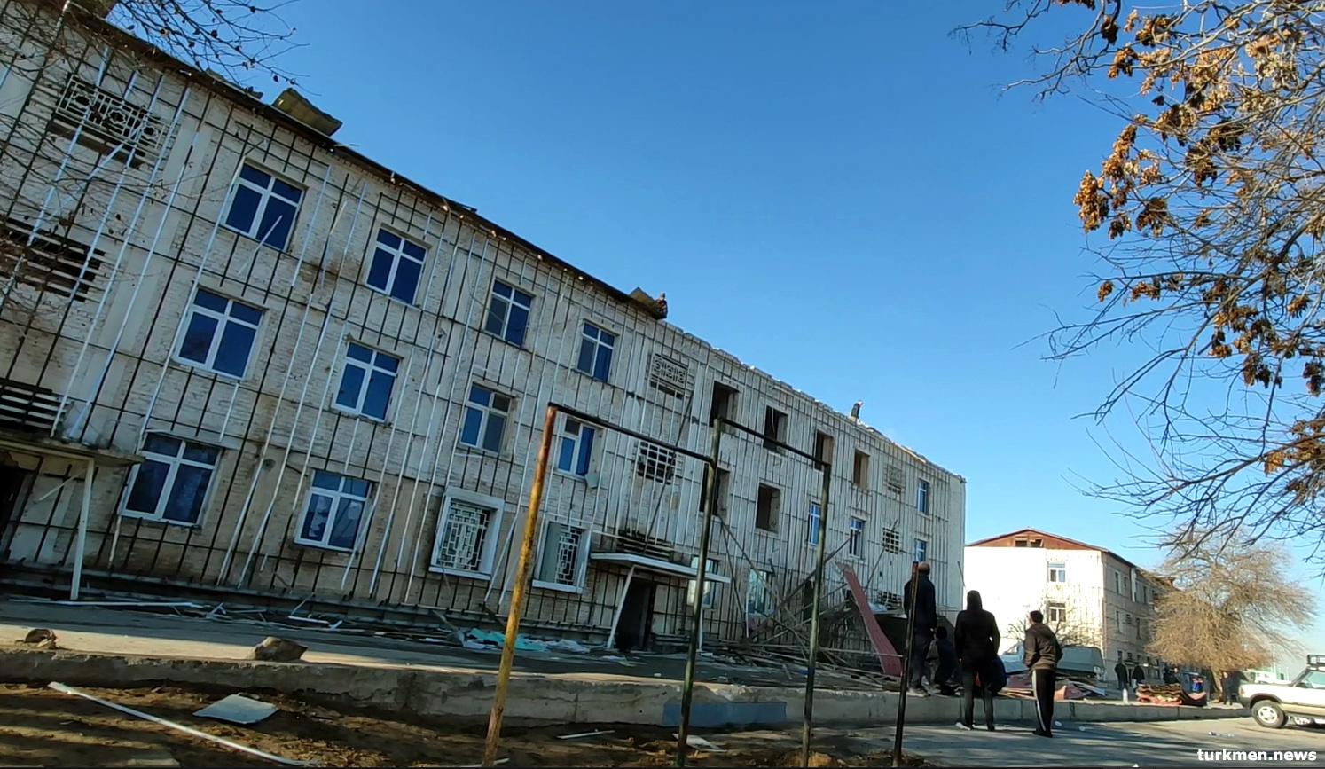 В Ашхабаде реконструируют район Текинского базара. Ожидается снос жилых домов
