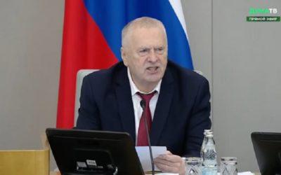 Владимир Жириновский похвалил власти Туркменистана за «отсутствие» коронавируса